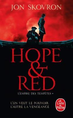 Couverture L'empire des tempêtes, tome 1 : Hope & Red