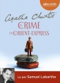 Couverture Le Crime de l'Orient-Express Editions Audiolib (Suspense) 2016
