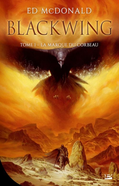 Couverture Blackwing, tome 1 : La marque du corbeau