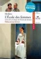 Couverture L'Ecole des femmes Editions Hatier (Classiques & cie) 2010