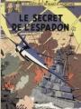 Couverture Blake et Mortimer, tome 03 : Le Secret de l'Espadon, partie 3 : SX1 contre-attaque Editions Dargaud 1986