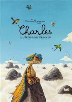Couverture Charles à l'école des dragons