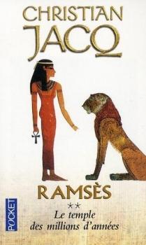Couverture Ramsès, tome 2 : Le temple des millions d'années