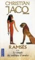 Couverture Ramsès, tome 2 : Le temple des millions d'années Editions Pocket 1997