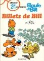 Couverture Boule et Bill, tome 21 : Billets de Bill Editions Dupuis 1987