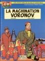Couverture Blake et Mortimer, tome 14 : La Machination Voronov Editions Blake et Mortimer 2000