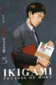 Couverture Ikigami : Préavis de mort, tome 05