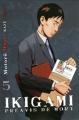 Couverture Ikigami : Préavis de mort, tome 05 Editions Kazé (Seinen) 2010
