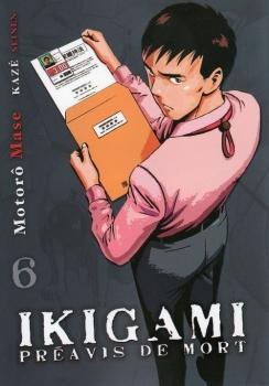 Couverture Ikigami : Préavis de mort, tome 06