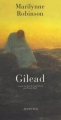 Couverture Gilead Editions Actes Sud 2007