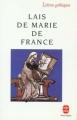 Couverture Lais / Les Lais Editions Le Livre de Poche (Lettres gothiques) 1990