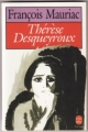 Couverture Thérèse Desqueyroux Editions Le Livre de Poche 1989