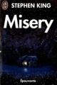 Couverture Misery Editions J'ai Lu (Epouvante) 1992