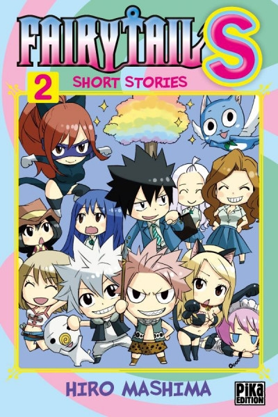Couverture Fairy tail S : Short stories, tome 2