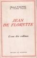 Couverture L'eau des collines, tome 1 : Jean de Florette Editions de Provence 1970