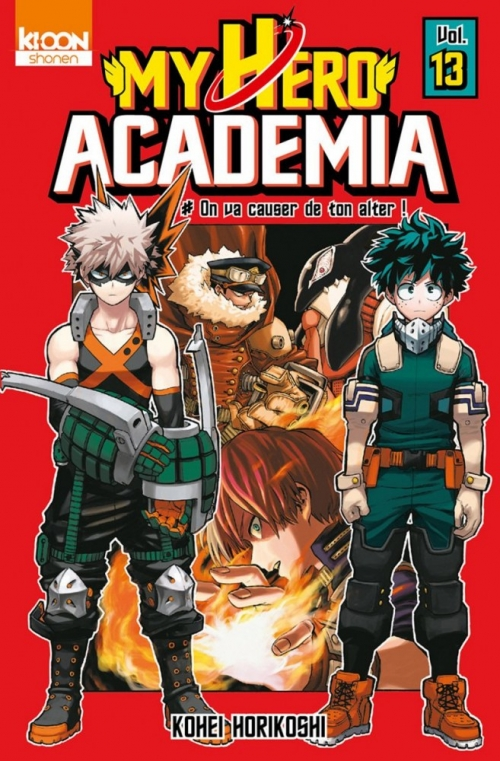 Couverture My Hero Academia, tome 13 : On va causer de ton alter !