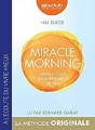Couverture Miracle morning Editions Audiolib 2018