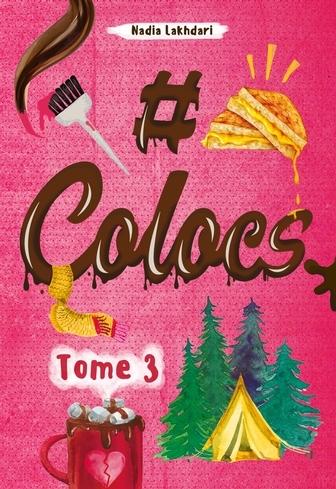 Couverture #colocs, tome 3