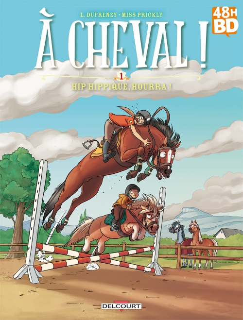 Couverture À cheval !, tome 1 : Hip hippique, hourra !