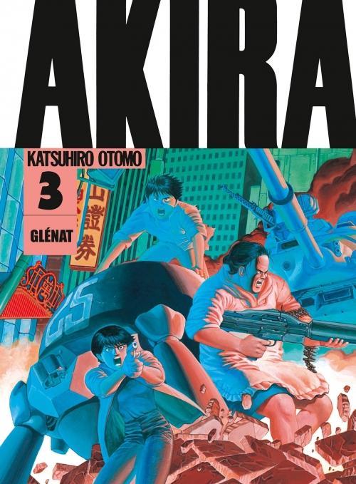 Couverture Akira (noir et blanc), tome 3
