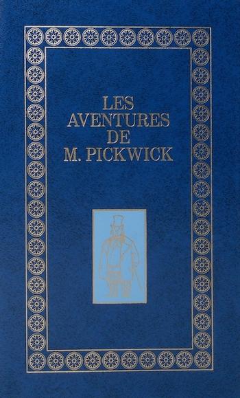 Couverture Les aventures de monsieur Pickwick, abrégé