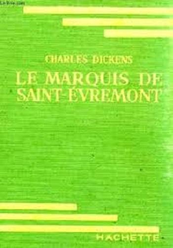 Couverture Le marquis de Saint-Evremont