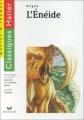 Couverture L'énéide Editions Hatier (Classiques - Oeuvres & thèmes) 2001