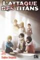 Couverture L'attaque des Titans, tome 24 Editions Pika (Seinen) 2018