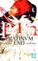 Couverture Platinum end, tome 01 Editions Kazé (Shônen up !) 2018