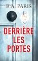 Couverture Derrière les portes Editions France Loisirs 2017