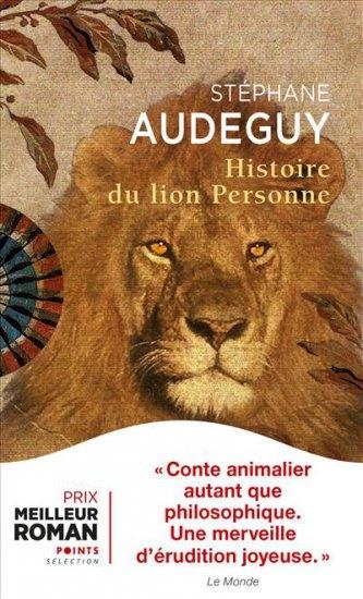 Couverture Histoire du lion Personne