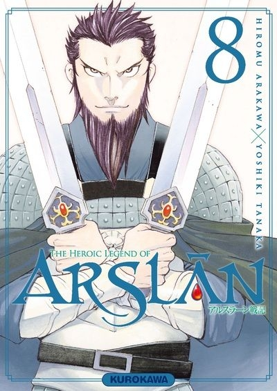 Couverture The Heroic Legend of Arslân, tome 8