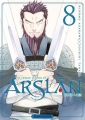 Couverture The Heroic Legend of Arslân, tome 08 Editions Kurokawa (Shônen) 2018