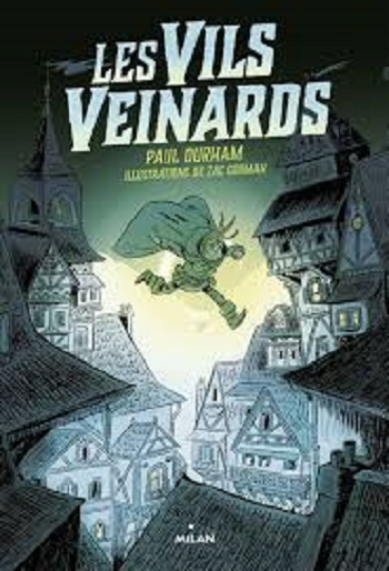 Couverture Les vils veinards, tome 1