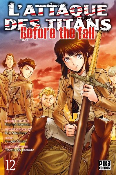 Couverture L'attaque des titans : Before the fall, tome 12