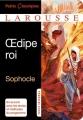 Couverture Oedipe roi Editions Larousse (Petits classiques) 2015