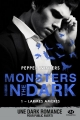 Couverture Monsters in the dark, tome 1 : Larmes amères Editions Milady (Romantica) 2018