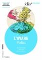 Couverture L'Avare Editions Folio  (+ Collège) 2016