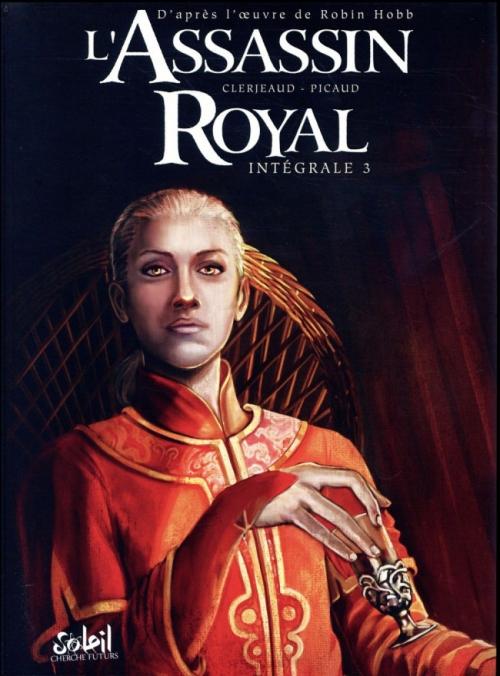 Couverture L'assassin Royal (BD), intégrale, tome 3