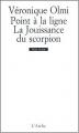 Couverture Point à la ligne, La jouissance du scorpion Editions L'Arche 1998