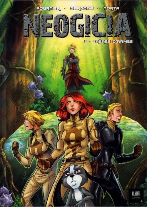 Couverture Neogicia (BD), tome 2 : Frères d'armes