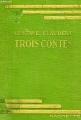 Couverture Trois contes Editions Hachette 1937