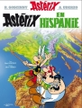 Couverture Astérix, tome 14 : Astérix en Hispanie Editions Hachette 2005