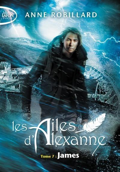 Couverture Les ailes d'Alexanne, tome 7 : James