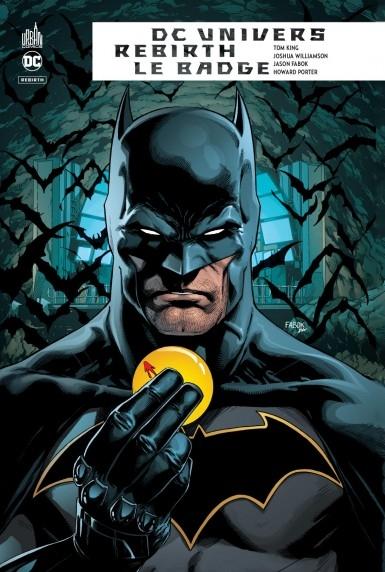 Couverture DC Univers Rebirth : Le badge