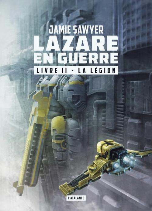Couverture Lazare en guerre, tome 2 : La légion