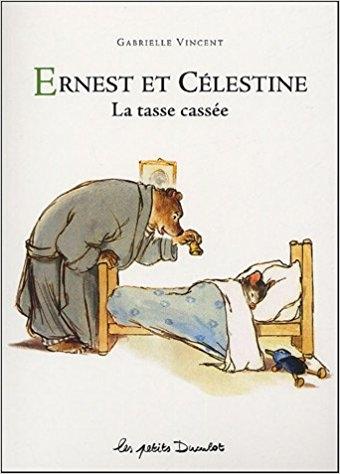 Couverture Ernest et Célestine : La tasse cassée