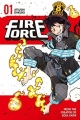 Couverture Fire force, tome 01 Editions Kodansha International 2016
