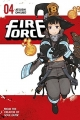 Couverture Fire force, tome 04 Editions Kodansha International 2017