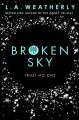 Couverture The broken trilogy, book 1: Broken Sky Editions Usborne 2016